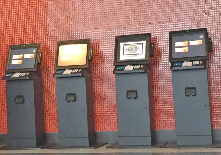 Ticket-Kiosks