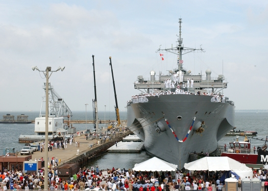 USS Mt. Whitney returns from deployment