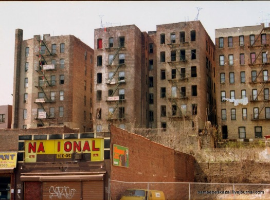 Pictures of New York's Abandoned in The Early of 1990s (54)